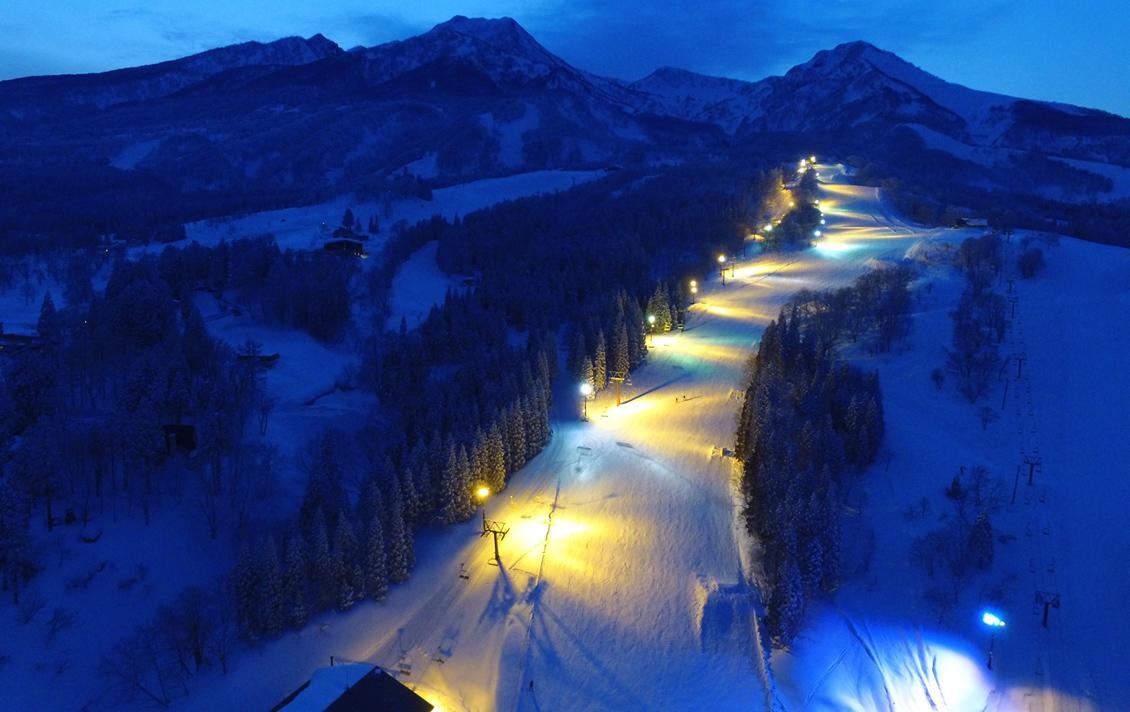妙高 赤倉溫泉滑雪場雪道介紹